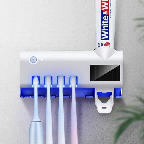 Електрически стерилизатор-диспенсер за четки за зъби