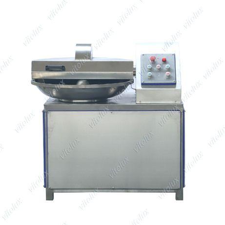 Кутер за месо с вместимост 40 литра, четворен нож, Двускоростен