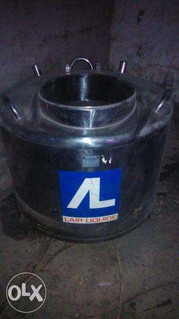Емкость нержавеющая сосуд дьюара криохранилище 1000 литров