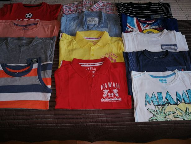 Lot de tricouri, cămăși 3-4ani, NEXT, REBRL...
