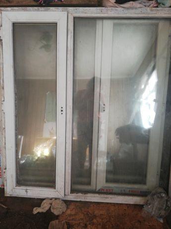 Окна пластиковые, москитная сетка и подоконник