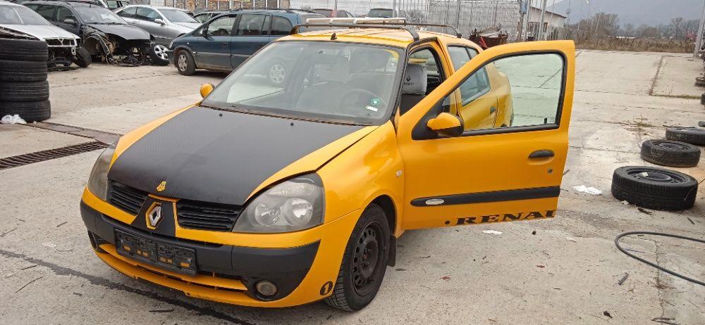 Renault Clio 1.4 75 к.с.. 2005г. Рено Клио 1.4 бензин 2005г. На части