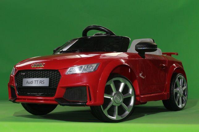 Masinuta electrica Kinderauto Audi TT RS 2x 30W STANDARD 12V #Rosu