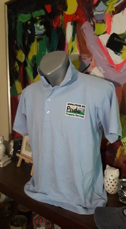 мъжка синя тениска размер М среден