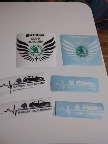 Stickere Skoda Octavia