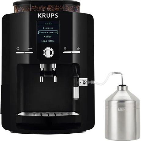 Espressor automat Krups EA8250, 1450W, 15 bar, 1.8 l, Negru