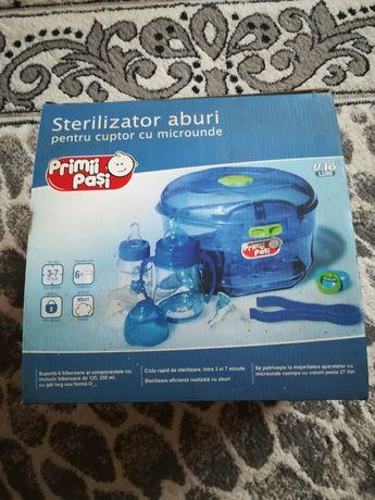 Sterilizator aburi pentru cuptorul cu microunde.Primii Pași.Produsul e