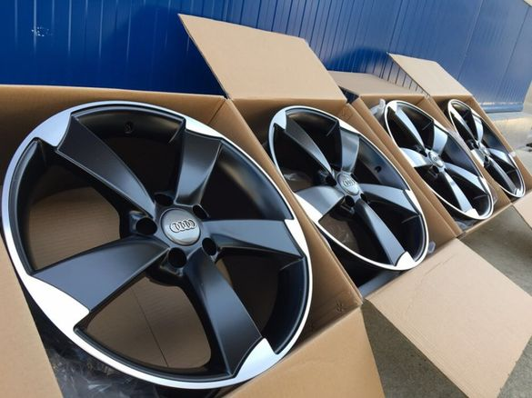 17 18 19 Джанти Audi Rotor Черен цвят Black Matte