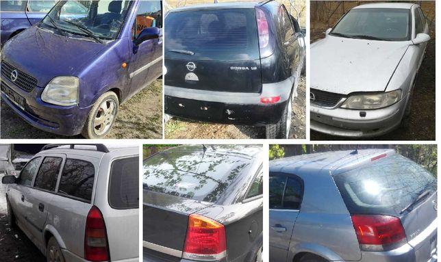 Dezmembrez Opel Vectra B, Astra G, Agila I, Corsa C, Zafira A