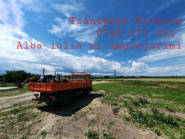 Transport basculabil 7,5 T , Alba Iulia și împrejurimi!!!