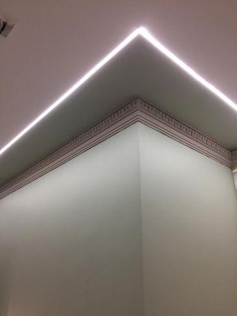 Покраска стен, поклейка обоев, галтелей, покраска стен потолков