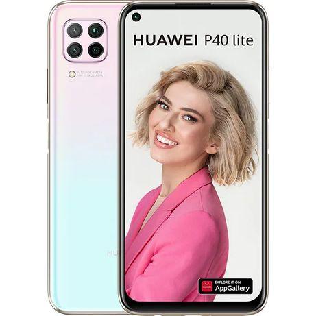 Huawei p40 lite sakura pink, dual sim, 128gb