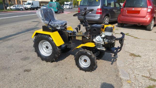 Mini tractor 4x4 , motocultor multifunctional , Campo 1856-4WD