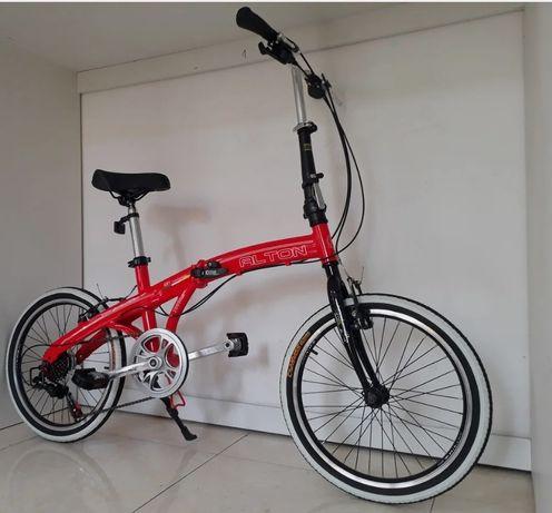 НОВЫЙ Велосипед ALTON (Корея) 20 колеса. Алюминиевая рама Алматы