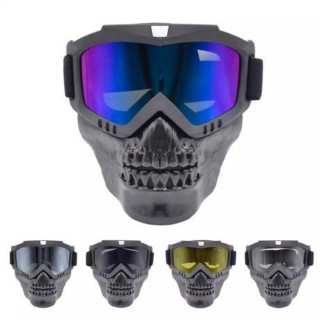 Мотор Колело Ски сноуборд очила, Мотокрос Слънчеви очила маска за лице