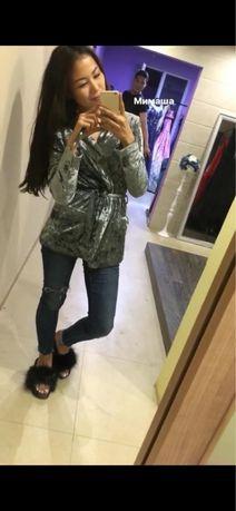 Продам велюровый пиджак zara