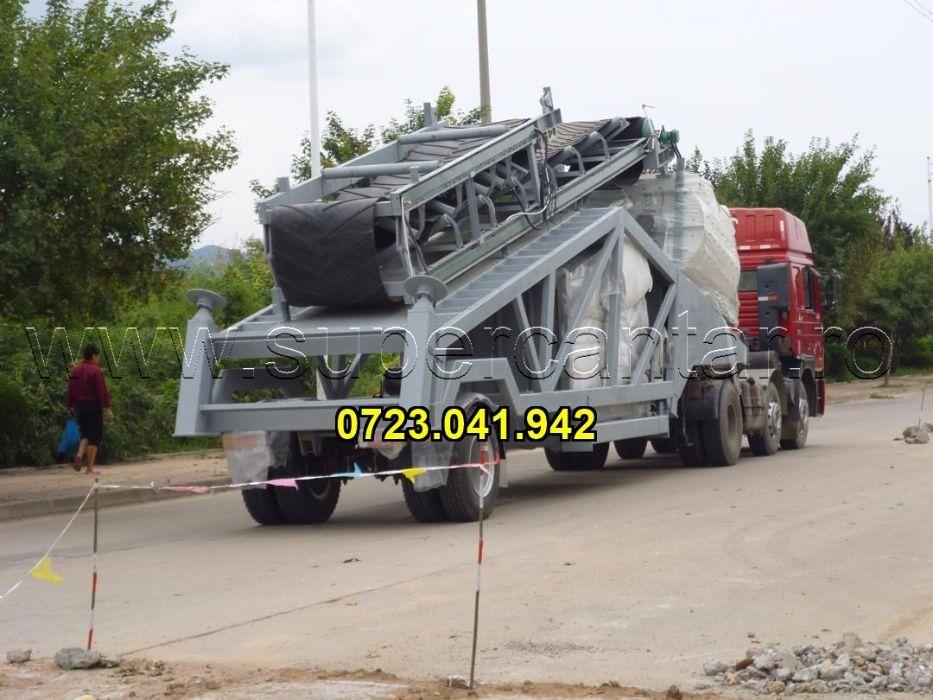 Statie betoane mobila noua 100mc/h + 3 silozuri ciment 100t Ploiesti - imagine 1