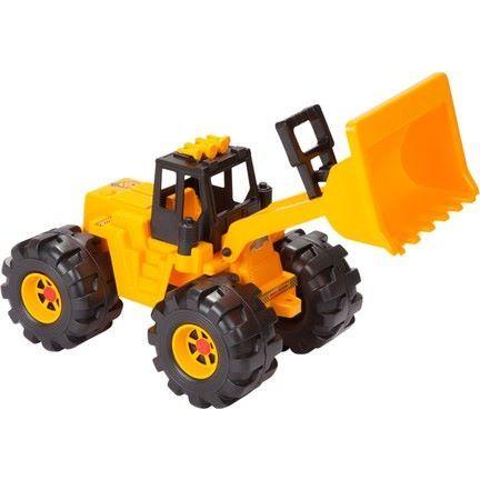 Детска играчка - голям багер / 67.5 х 25 х 32 см. / или / 83 х 30 х 36