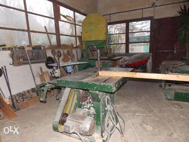 Utilaje tamplarie profesionale lemn masiv
