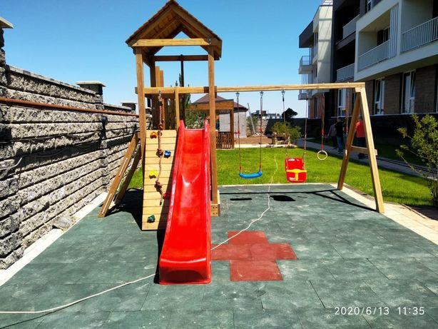 Детский городок детская игровая площадка горка качеля детская площадка