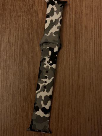 Curea Apple watch 38-40 mm M/L Camouflage pattern