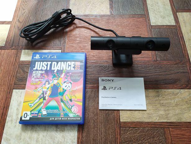 "Камера PS4 V2 с игрой ""Just dance 2018"""
