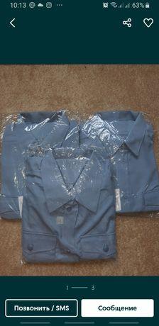 МВД рубашка синяя