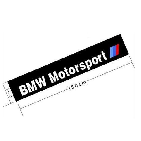 Sticker Auto Parasolar BMW MOTORSPORT pentru parbriz / luneta