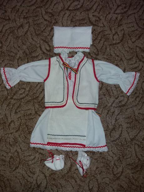 Costum popular fetita 3-6 luni