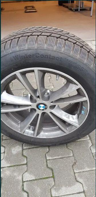 Roti complete cu anvelope de iarna BMW - 17 - Continental Winter TS850 Bucuresti - imagine 1