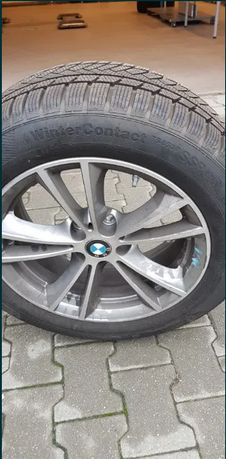 Roti complete cu anvelope de iarna BMW - 17 - Continental Winter TS850