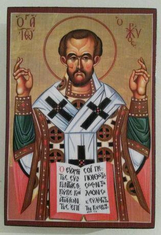 Икона на Свети Йоан Златоуст icona Sveti Ioan Zlatoust