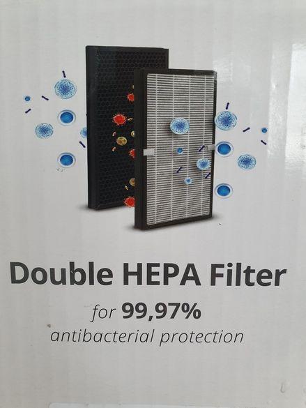 Пречиствател на въздух HEPA H13 99,97%