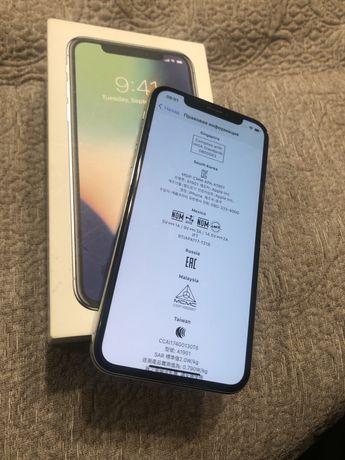 Продам Iphone X white 64g EAC в идеале