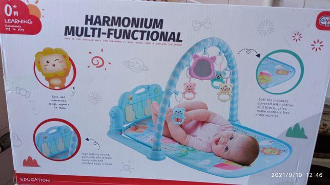 Продадим детский развивающий коврик с пианино.