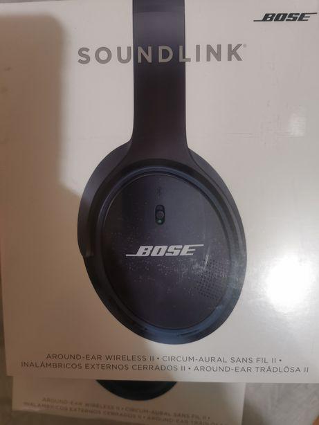 Casti audio Bose SoundLink Around-ear Wireless, Series II, Negre