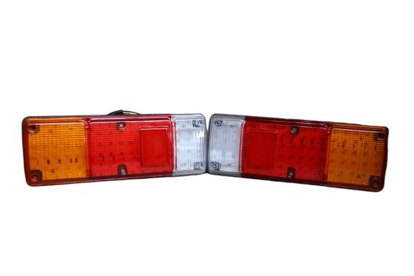 Комплект ЛЕД LED диодни стопове за каравана , платформа , ремарме , БУ