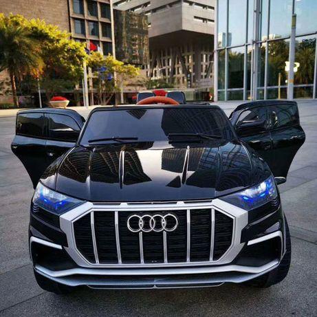 Акумулаторен джип Audi Q8 с меки гуми