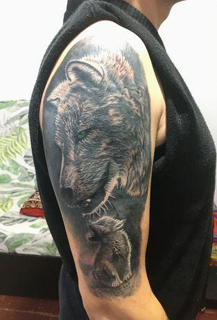 Tatuaje la domiciliu