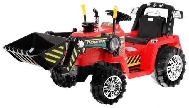 Tractor electric pentru copii cu Telecomanda (1005) Rosu