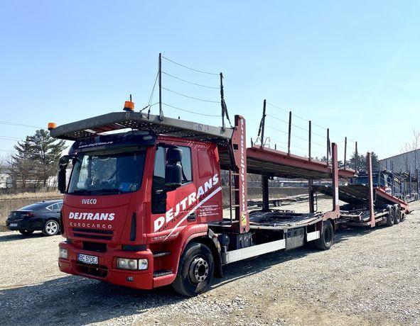 IVECO EuroCargo 1530 / transportor auto / autotransportor