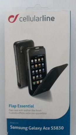 Husa Flap Essential pentru Samsung Galaxy Ace S5830
