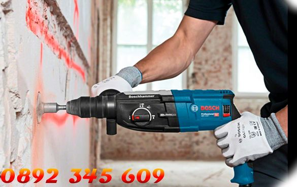 Перфоратор BOSCH GBH 2-28 Professional, 880W, SDS-plus, 3.2J професион