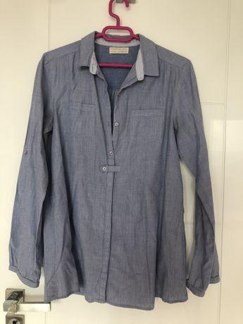 Детска синя риза ZARA