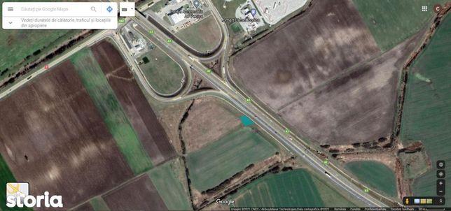 Teren lângă autostradă