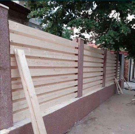 Construim garduri la comanda clientului