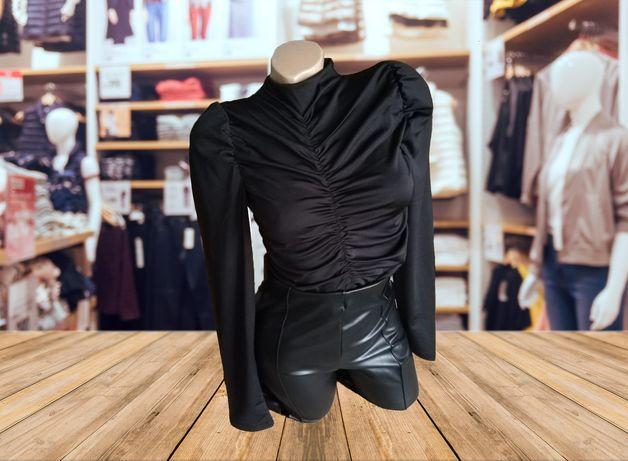 Bluză neagră elegantă