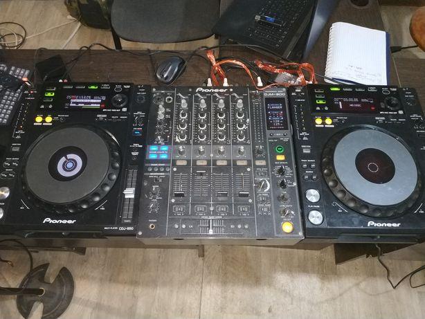 Pioneer cdj 850, pioneer ddj 800