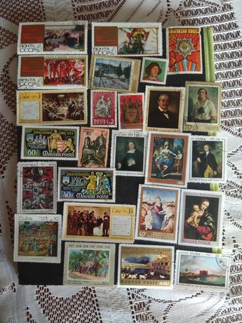 Продавам  пощенски марки