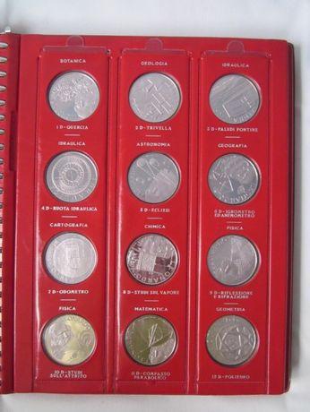 1476 g argint Italia - 925/1000, Proof - 36 medalii comemorative
